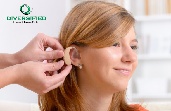 Girl with Hearing Loss Getting Fitted For Hearing Aid, Buffalo NY