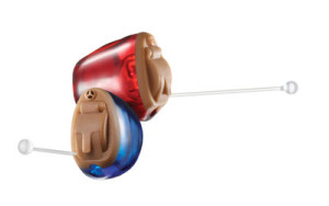 Red & Blue Micro CIC Hearing Aids, Williamsville & Hamburg NY